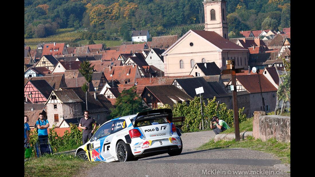 WRC Rallye Frankreich 2014, Andreas Mikkelsen, VW