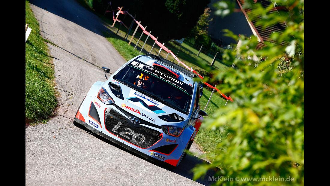 WRC Rallye Frankreich 2014, Dani Sordo, Hyundai