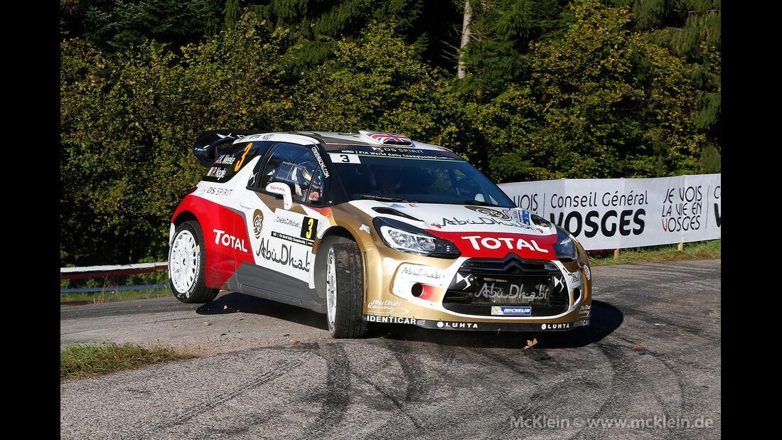 WRC Rallye Frankreich 2014, Kris Meeke, Citroen