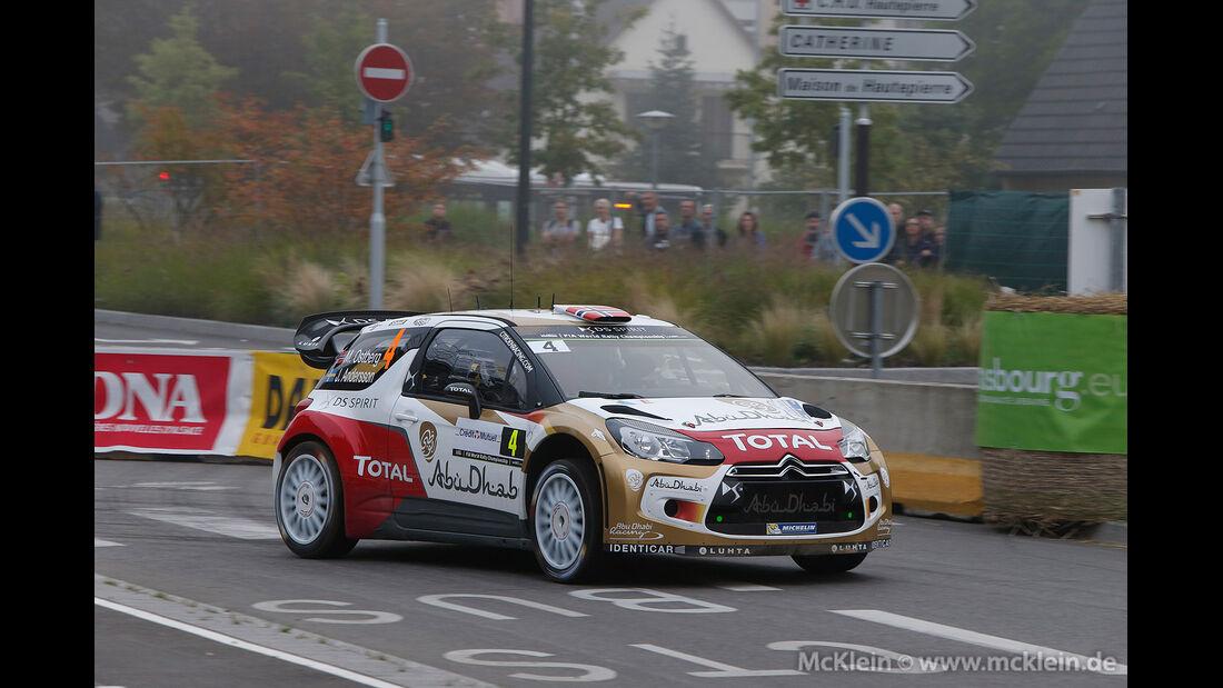 WRC Rallye Frankreich 2014, Mads Östberg, Citroen