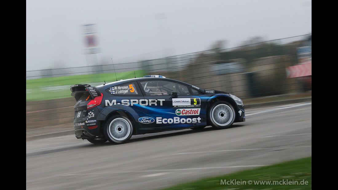 WRC Rallye Frankreich 2014, Mikko Hirvonen, Ford