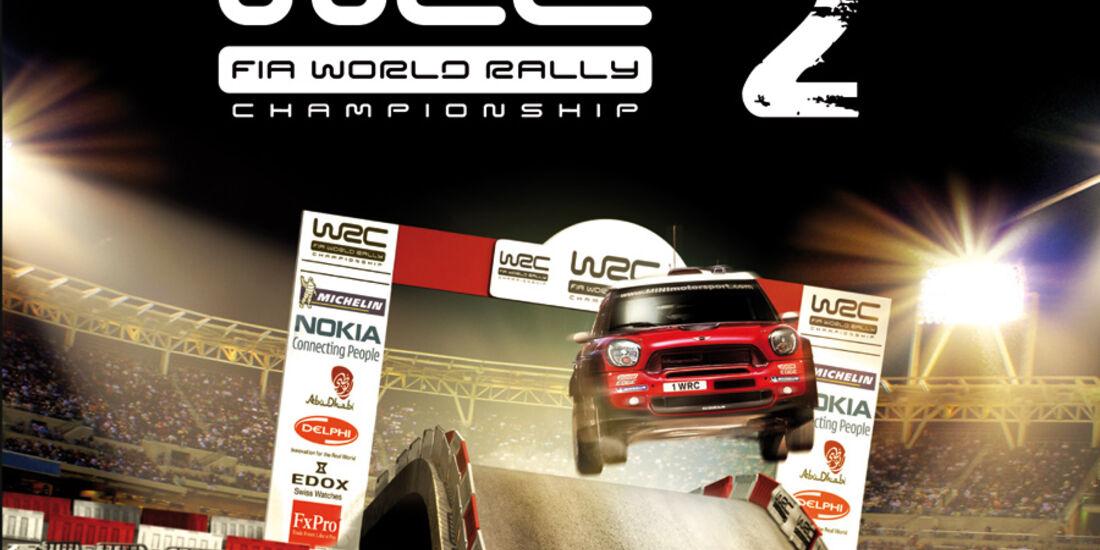 WRC2 Game Rennspiel 2011 Packshot