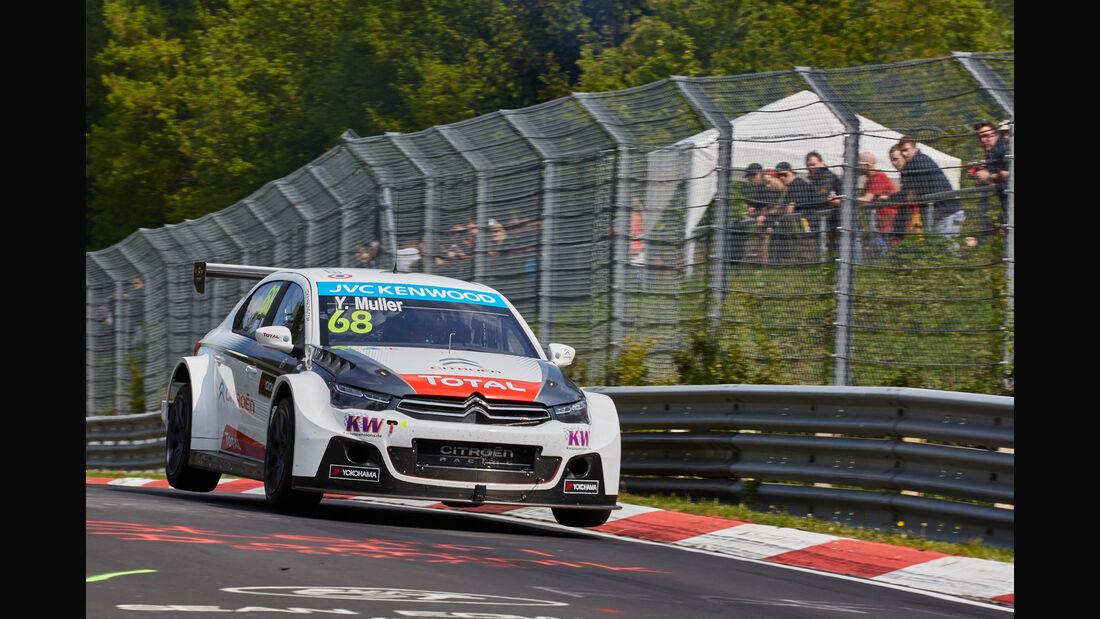 WTCC 24h Rennen Nürburgring 2015 Yvan Muller
