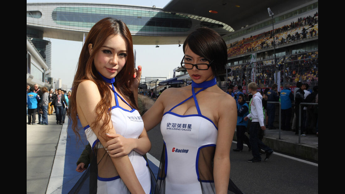 WTCC Girls - Shanghai 2012