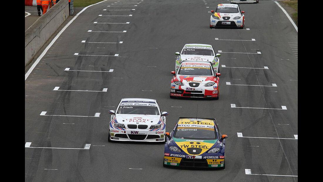 WTCC, Tourenwagen WM, Zolder, 2010, Seat Leon, Tom Coronel, BMW 320 si Andy Priaulx