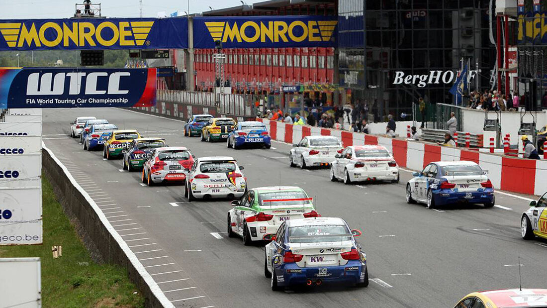 WTCC, Tourenwagen WM, Zolder, 2010, Start