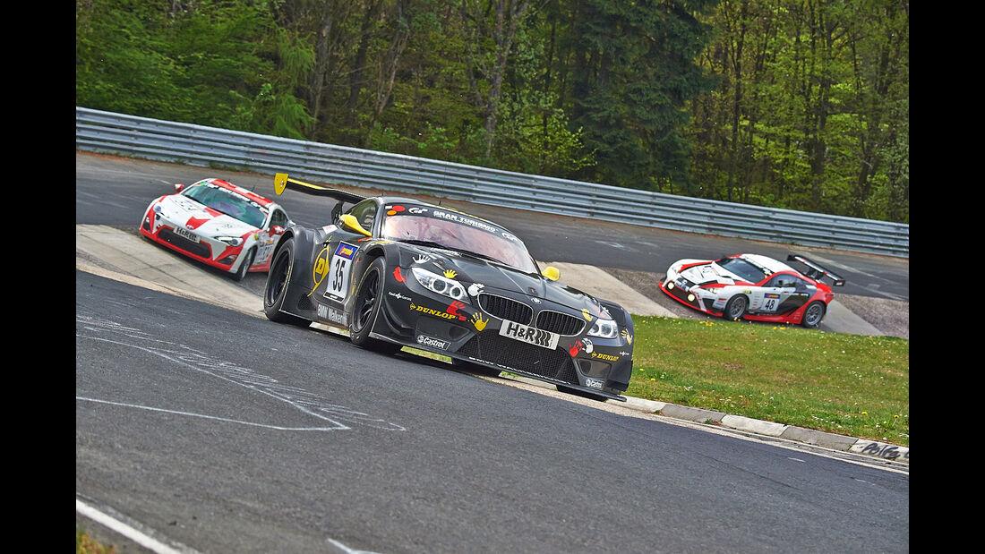 Walkenhorst BMW Z4 - VLN Nürburgring - 3. Lauf - 26. April 2014