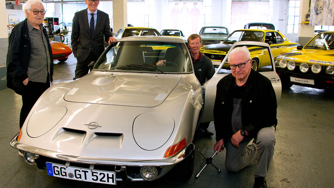 Walter Röhrl Opel GT