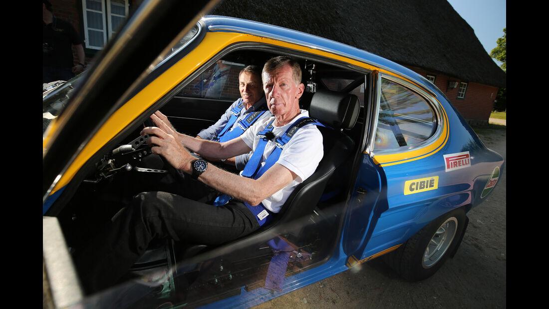Walter Röhrt und sein Ford Capri RS, Impression, Reportage