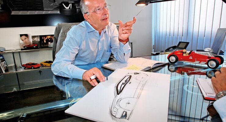 Walter de Silva, Portrait, Schreibtisch