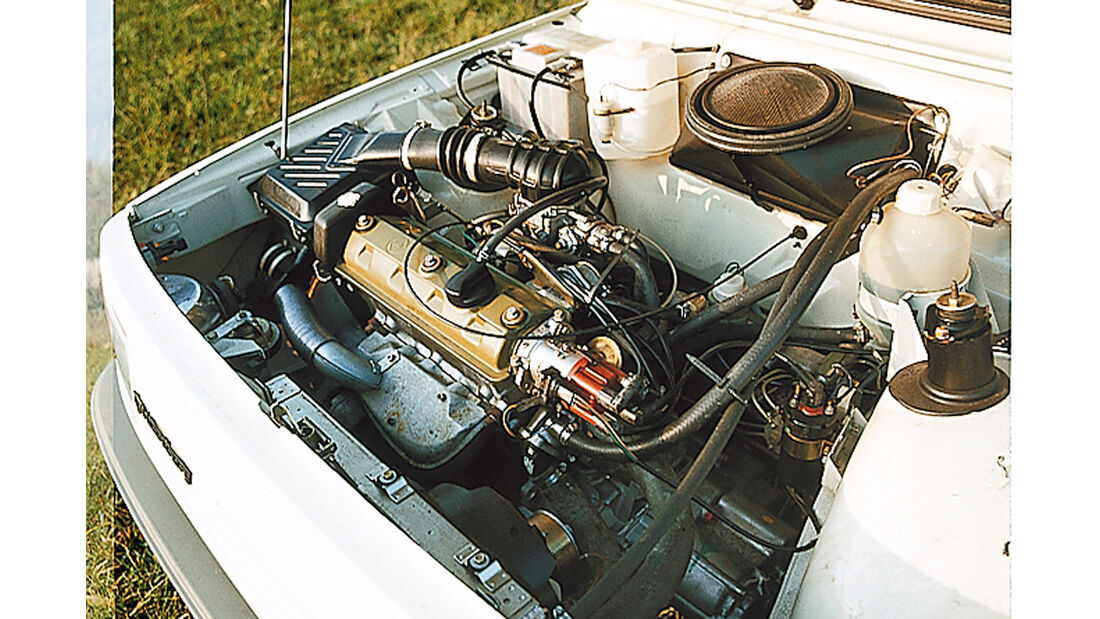 Wartburg 1.3, Motor