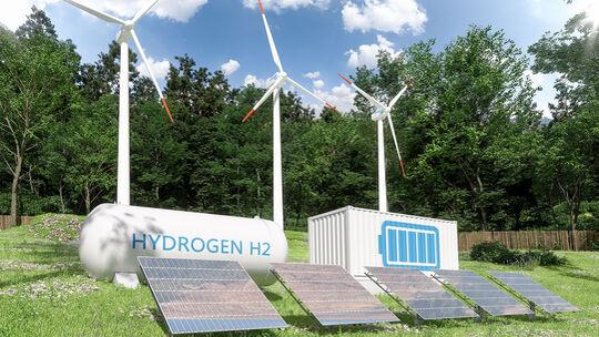 Wasserstoffproduktion