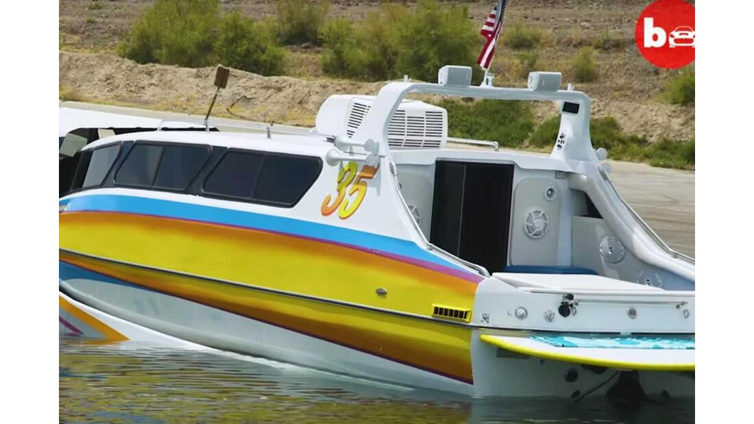 Watercraft Sports King (1987) Boaterhome