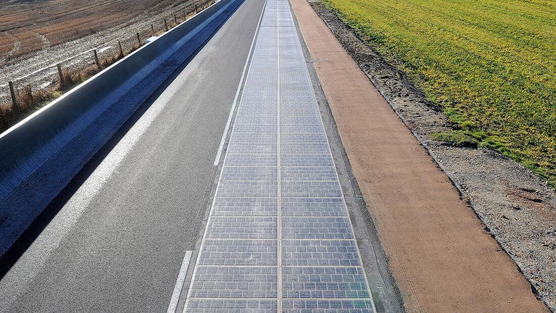 Wattway Solarstraße
