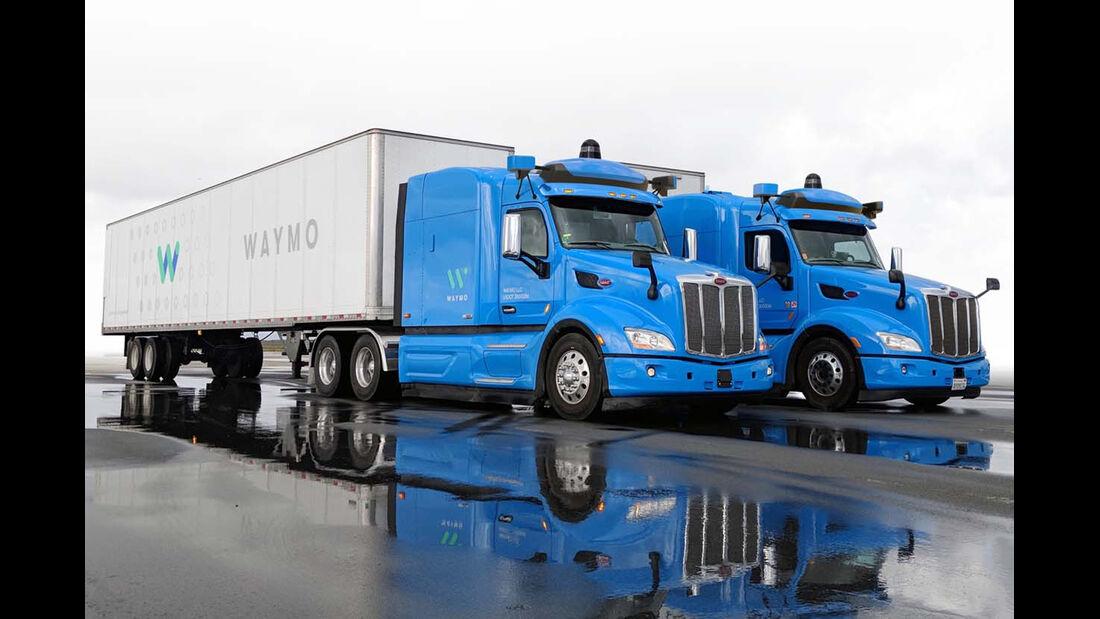 Waymo-Plattform für LKW