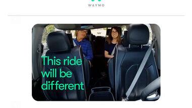 Waymo fahrerlose Autos