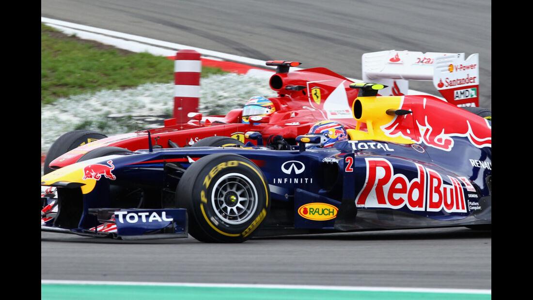 Webber Alonso GP Deutschland 2011
