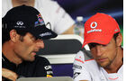 Webber & Button - GP Kanada - Formel 1 - 7. Juni 2012