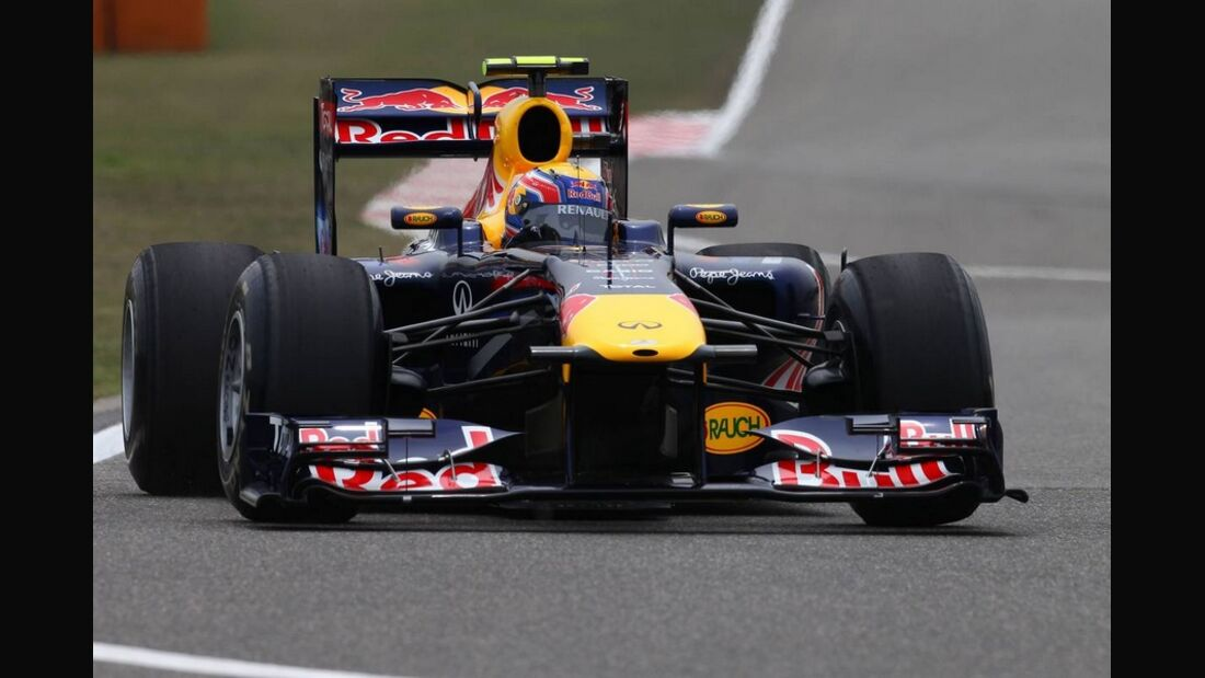 Webber Formel 1 GP China 2011
