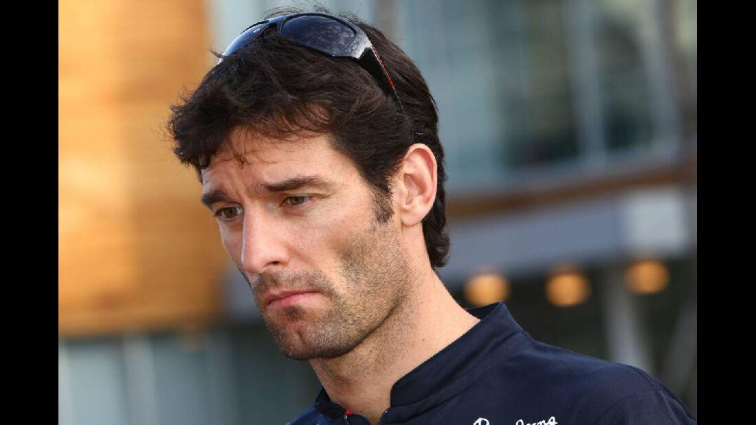 Webber  - Formel 1 - GP Korea - 13. Oktober 2011