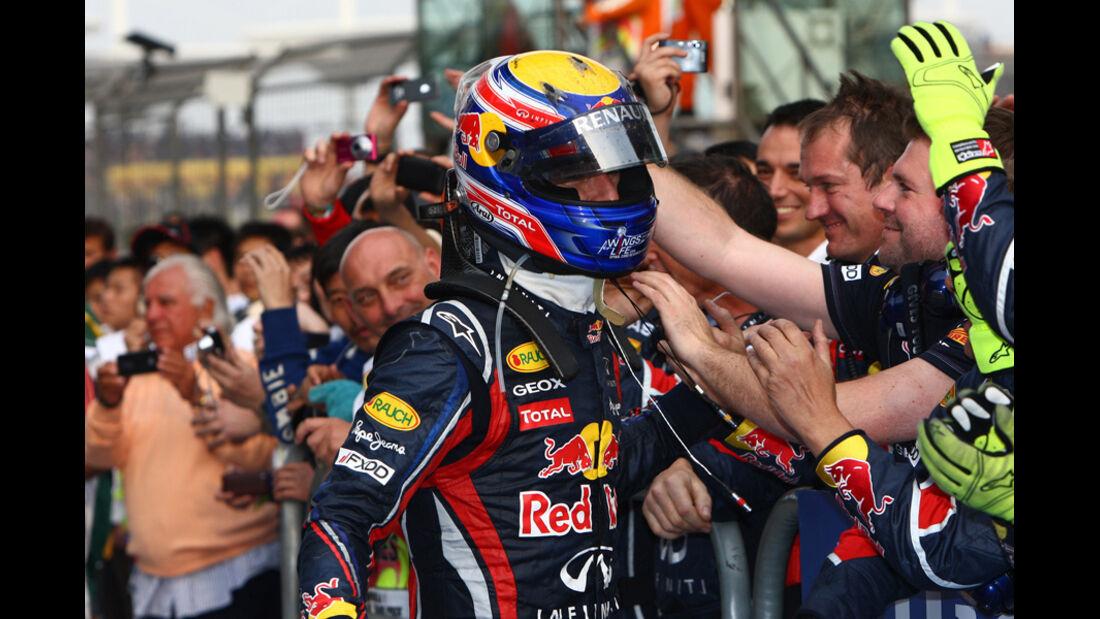 Webber GP China 2011