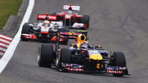 Webber Hamilton Alonso GP Deutschland 2011