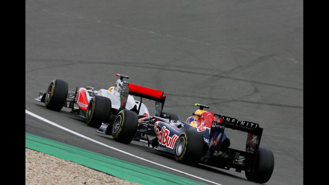 Webber Hamilton GP Deutschland 2011