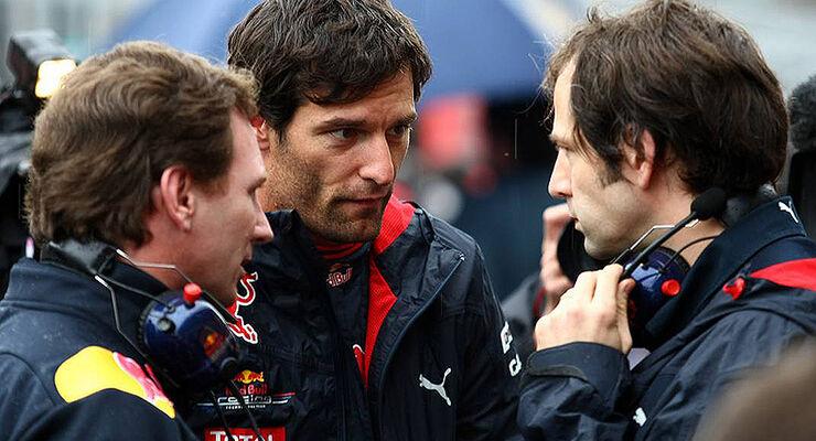 Webber Horner GP Korea 2010