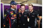 Webber, Horner & Vettel - Formel 1 - GP USA - 16. November 2013