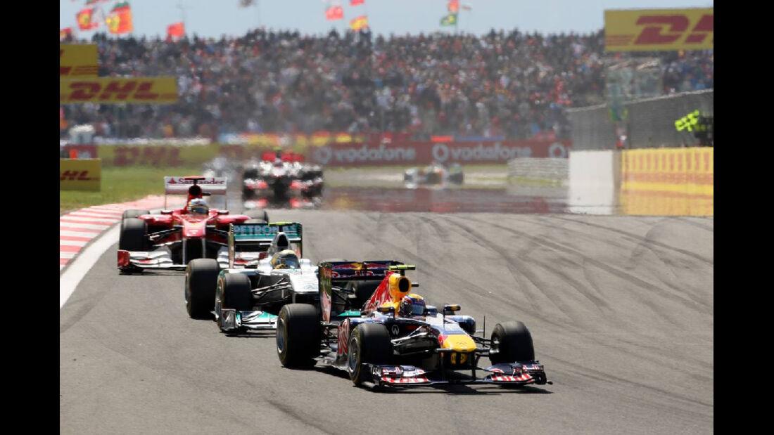 Webber Impressionen GP Türkei 2011
