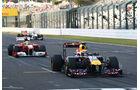 Webber - Massa  - Formel 1 - GP Japan - 07. Oktober 2011
