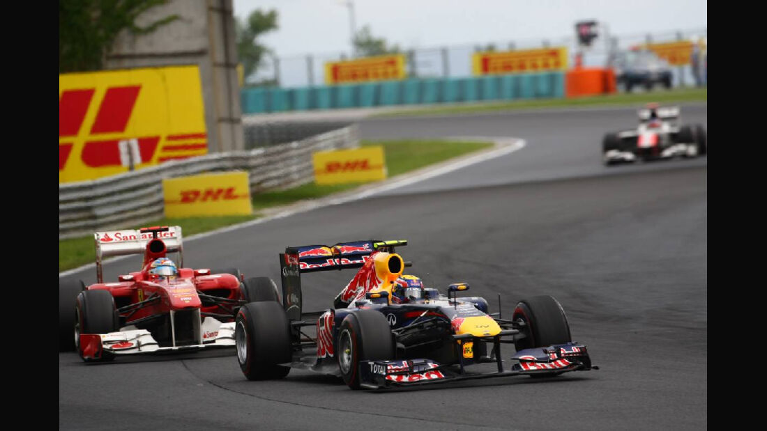 Webber - Noten - GP Ungarn - Formel 1 - 31.7.2011