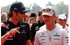 Webber & Schumacher GP Italien Monza 2011