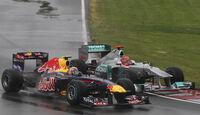 Webber & Schumacher GP Kanada 2011