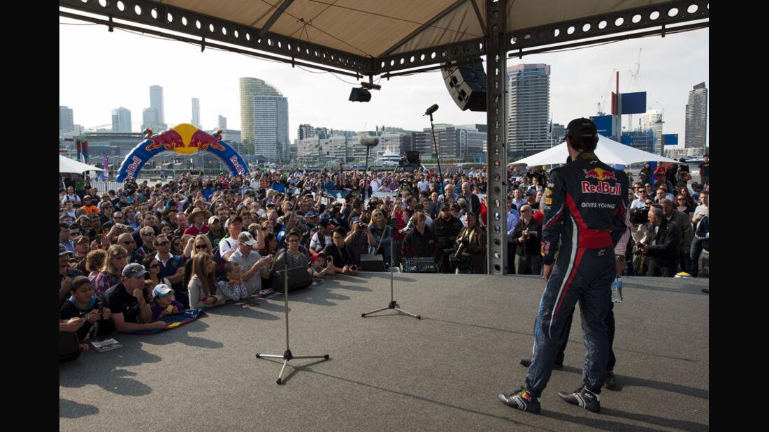 Webber Showrun Melbourne 2015