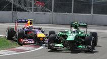 Webber & Van der Garde - GP Kanada 2013