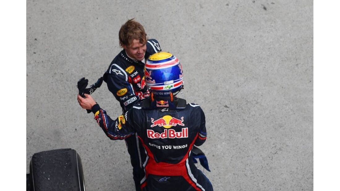 Webber Vettel Formel 1 GP China 2011