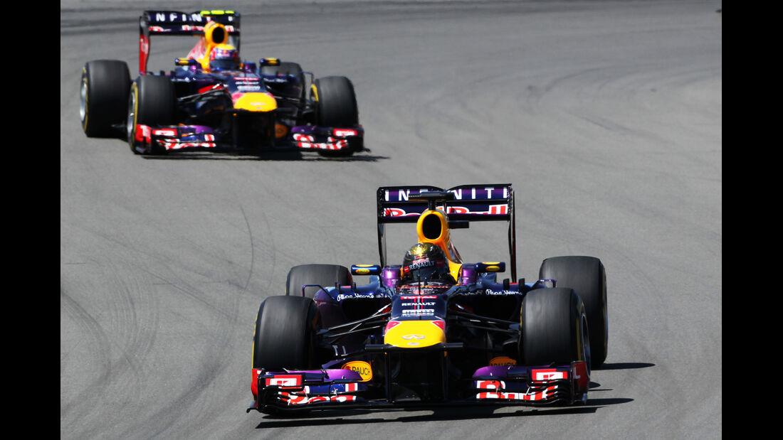 Webber & Vettel - Formel 1 - GP Deutschland 2013