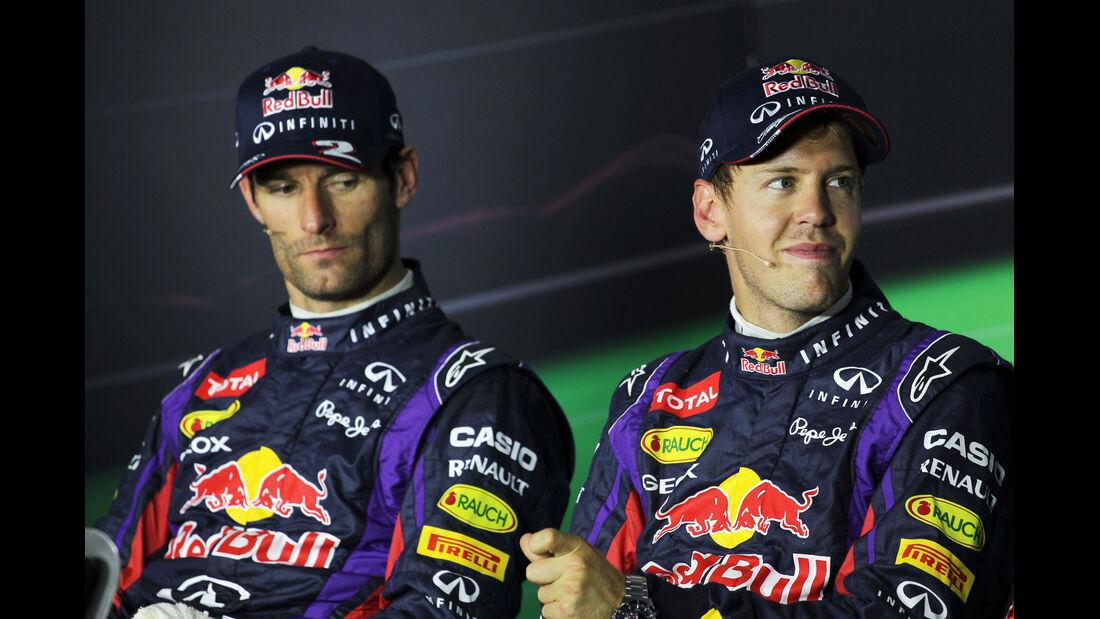 Webber &/ Vettel - Formel 1 - GP Italien - 7. September 2013