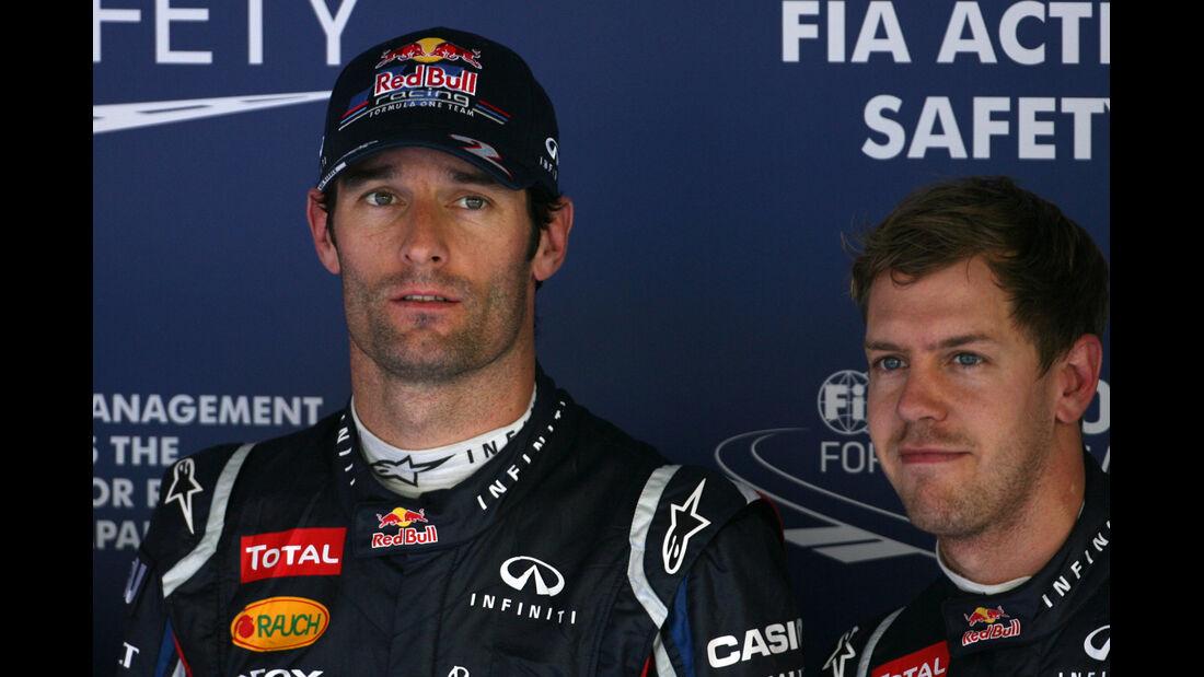 Webber & Vettel - Formel 1 - GP Korea - 13. Oktober 2012