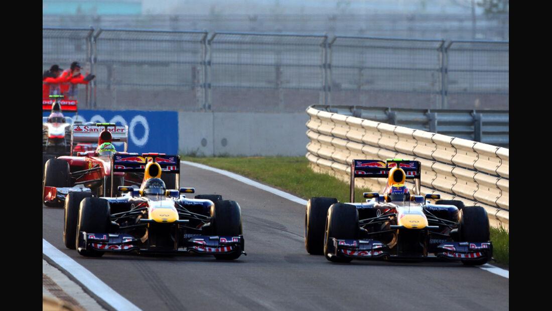 Webber & Vettel - GP Korea 2011