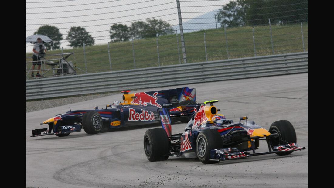 Webber Vettel GP Türkei