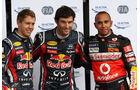 Webber Vettel Hamilton - GP Deutschland - Nürburgring - 23. Juli 2011