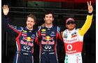 Webber Vettel Hamilton GP Spanien 2011