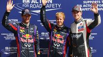 Webber, Vettel & Hülkenberg - GP Italien 2013