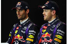 Webber & Vettel - Red Bull - Formel 1 - GP USA - 16. November 2013