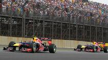 Webber Vettel Red Bull GP Brasilien 2012