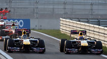 Webber & Vettel Red Bull GP Korea 2011