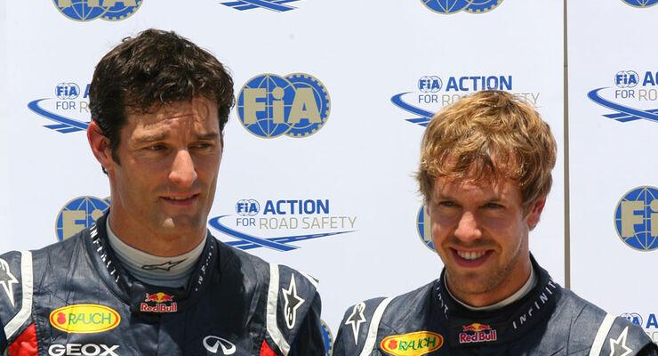 Webber & Vettel