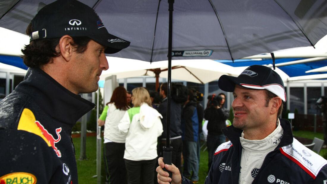 Webber und Barrichello